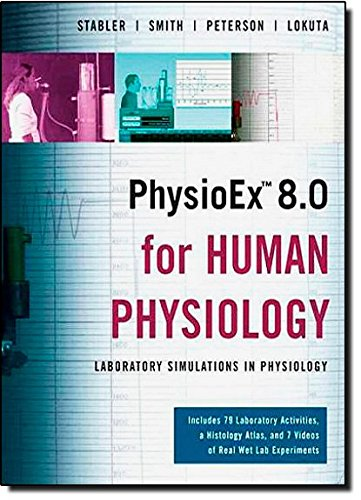9780321548573: PhysioEx 8.0 for Human Physiology: Lab Simulations in Physiology