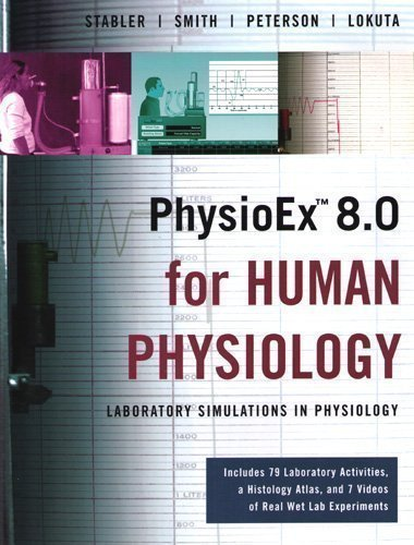 9780321549006: PhysioEx 8.0 for Human Physiology: Laboratory Simulations in Physiology (Integrated product)
