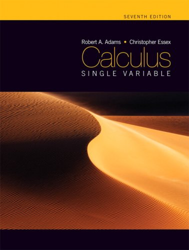 9780321549273: Calculus: Single Variable, Seventh Edition (7th Edition)
