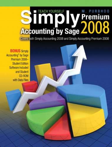 9780321549389: Using Simply Accounting by Sage 2008