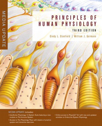 9780321550897: Principles of Human Physiology with Interactive Physiology® 10-System Suite, Media Update (3rd Edition)