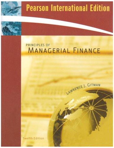 9780321551924: Principles of Managerial Finance plus MyfinanceLab Student Access Kit: International Edition