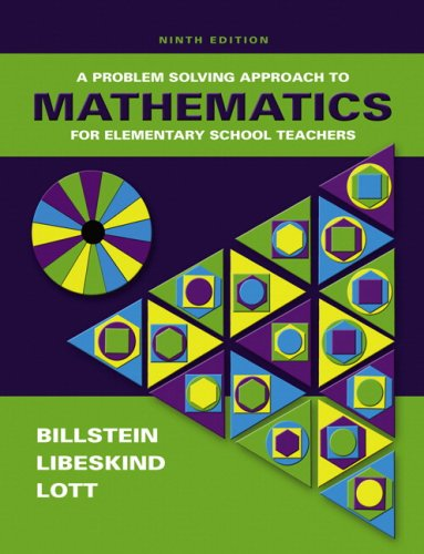 9780321553805: Problem Solving Approach to Mathematics for Elementary School Teachers Value Pack (includes MyMathLab/MyStatLab Student Access Kit & Mathematics ... School Teachers: A Problem Solving Approach)