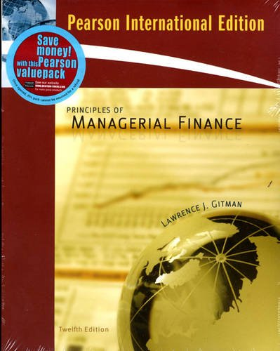 9780321555281: Principles of Managerial Finance
