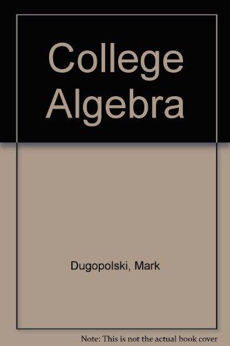 9780321556011: College Algebra