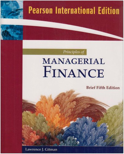 9780321556189: Principles of Managerial Finance: Brief