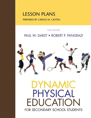 9780321557025: Lesson Plans for DPE Secondary School Students (6th Edition)