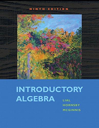 9780321557131: Introductory Algebra (9th Edition)