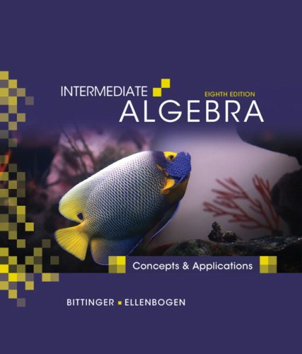 9780321557186: Intermediate Algebra: Concepts and Applications (8th Edition)
