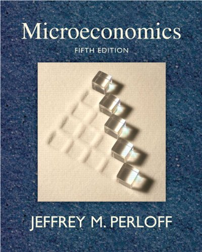9780321558497: Microeconomics (5th Edition)