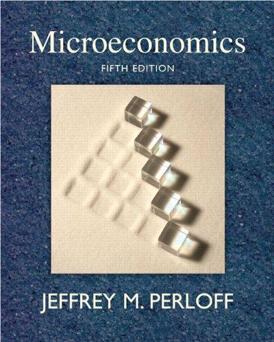 9780321558497: Microeconomics (5th Edition)