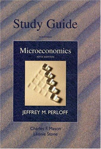 9780321559357: Microeconomics-Study Guide