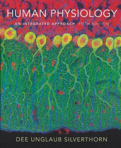 Human Physiology: An Integrated Approach 5th Edition: Silverthorn, Dee Unglaub; et al