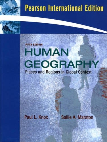 9780321561862: Places and Regions in Global Context: Human Geography