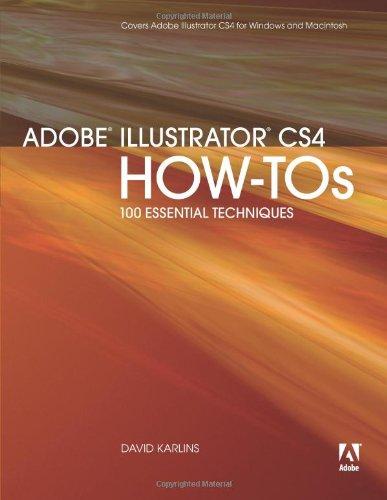 9780321562906: Adobe Illustrator CS4 How-Tos: 100 Essential Techniques