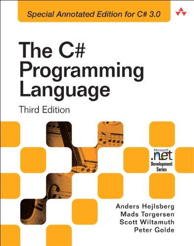 9780321562999: C# Programming Language: The Annotated Edition (Microsoft .Net Development Series)