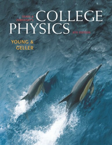 College Physics, (Chs.1-30) with MasteringPhysics Value Pack (includes Student Solutions Manual, Volume 2 (chs.17-30) for College Physics & Student ... (chs.1-16) for College Physics) (8th Edition) (0321563530) by Hugh D. Young; Robert Geller
