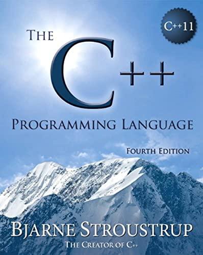 9780321563842: The C++ Programming Language, 4th Edition