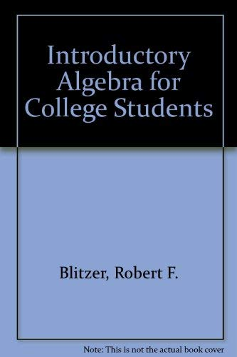 9780321563910: Introductory Algebra for College Students Plus MyMathLab Student Access Kit, 5th Edition