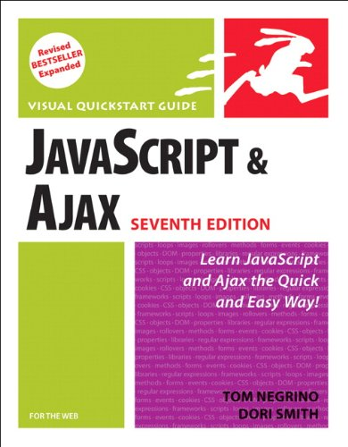 9780321564085: JavaScript and Ajax for the Web: Visual QuickStart Guide (7th Edition)