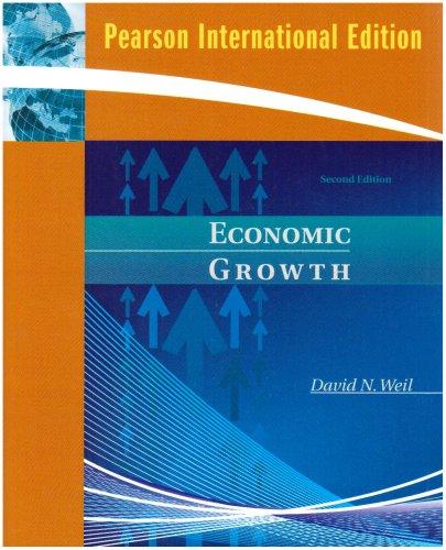 Economic Growth: David N. Weil