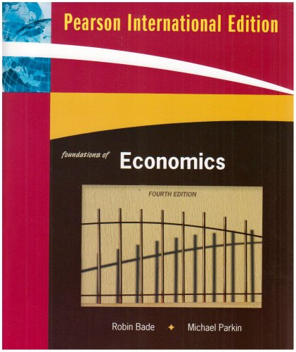 9780321564375: Foundations of Economics
