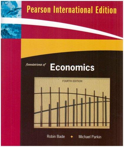 9780321564375 foundations of economics international edition rh abebooks co uk Economics Study Guide Answer Keys Economic Study Guide Answer Sheet