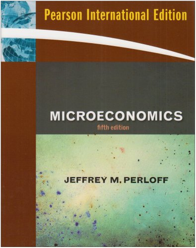 9780321564399: Microeconomics: International Edition