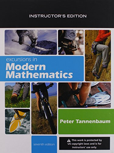 9780321565082: Excursions in Modern Mathematics Instructor's Edition
