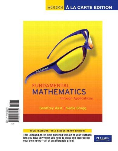 9780321565228: Fundamental Mathematics Through Applications Plus MyMathLab Student Access Kit (4th Edition)