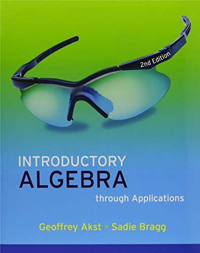 Introductory Algebra through Applications Plus MyMathLab Student Access Kit (2nd Edition): Akst, ...