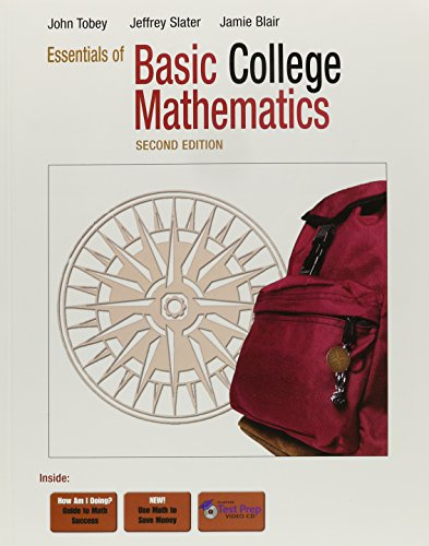 9780321565242: Essentials of Basic College Mathematics Plus MyMathLab Student Access Kit (2nd Edition)