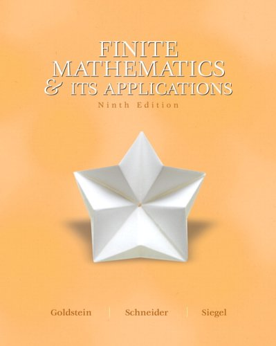 Finite Mathematics and Its Application Value Pack: Larry J. Goldstein,