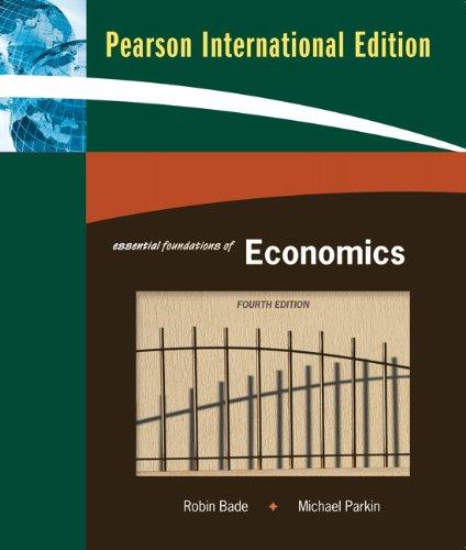 9780321566324: Essential Foundations of Economics
