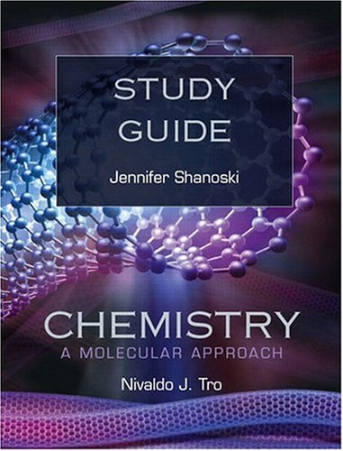 9780321566355: Study Guide for Chemistry: A Molecular Approach