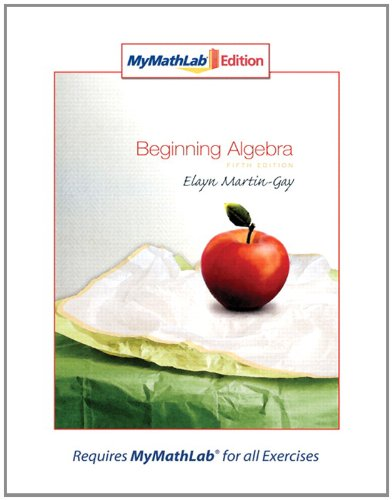 9780321566737: Beginning Algebra, MyMathLab Edition (5th Edition)