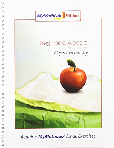 9780321566744: Beginning Algebra, MyMathLab Edition Package (5th Edition)