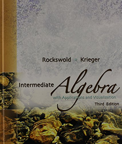 9780321566829: Intermediate Algebra with Applications and Visualization Plus MyMathLab Student Access Kit (3rd Edition)