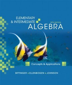 9780321567260: Elementary and Intermediate Algebra: Concepts and Applications