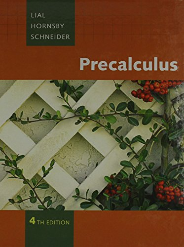9780321567543: Precalculus plus MyMathLab Student Access Kit (4th Edition)