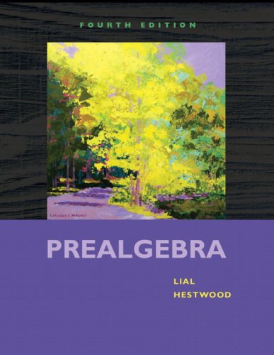 9780321567925: Prealgebra (4th Edition)