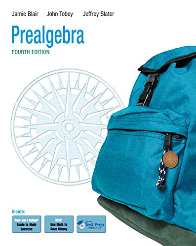 9780321567932: Prealgebra (4th Edition)