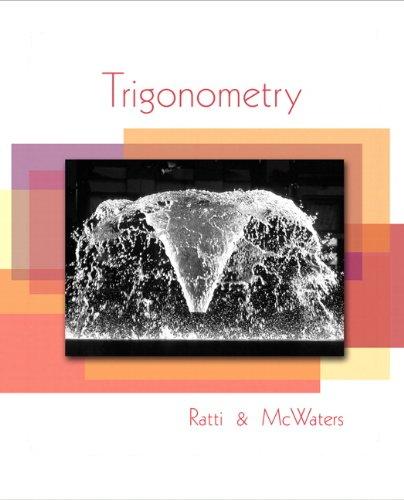 9780321567987: Trigonometry