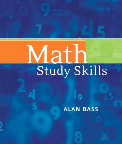 Math Study Skills Value Package (includes Basic: Geoffrey Akst, Sadie