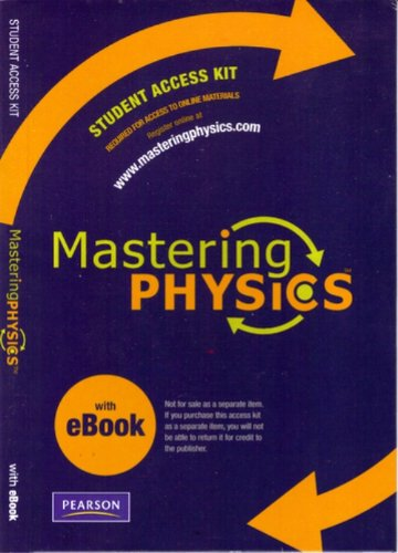 9780321570116: MasteringPhysics with Pearson eText Student Access Kit (ME Component)