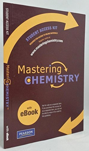 9780321570130: Mastering Chemistry Student Access Kit