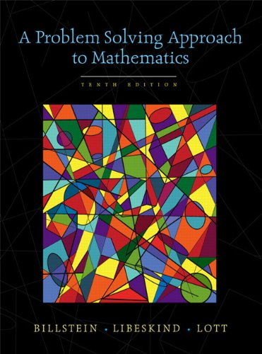 9780321570543: A Problem Solving Approach to Mathematics (10th Edition)