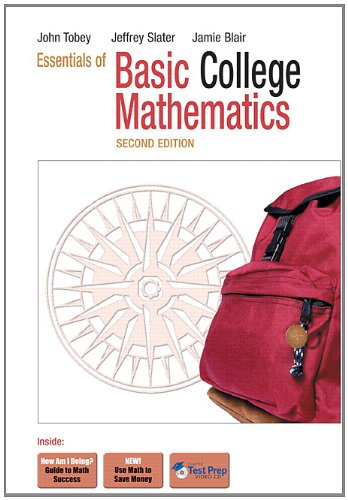9780321570659: Essentials of Basic College Mathematics (2nd Edition)
