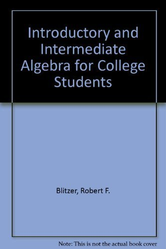 9780321572127: Introductory & Intermediate Algebra for College Students Plus MyMathLab Student Access Kit (3rd Edition)