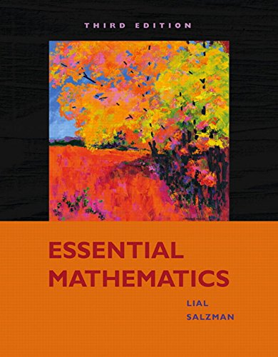 9780321572707: Essential Mathematics (3rd Edition)